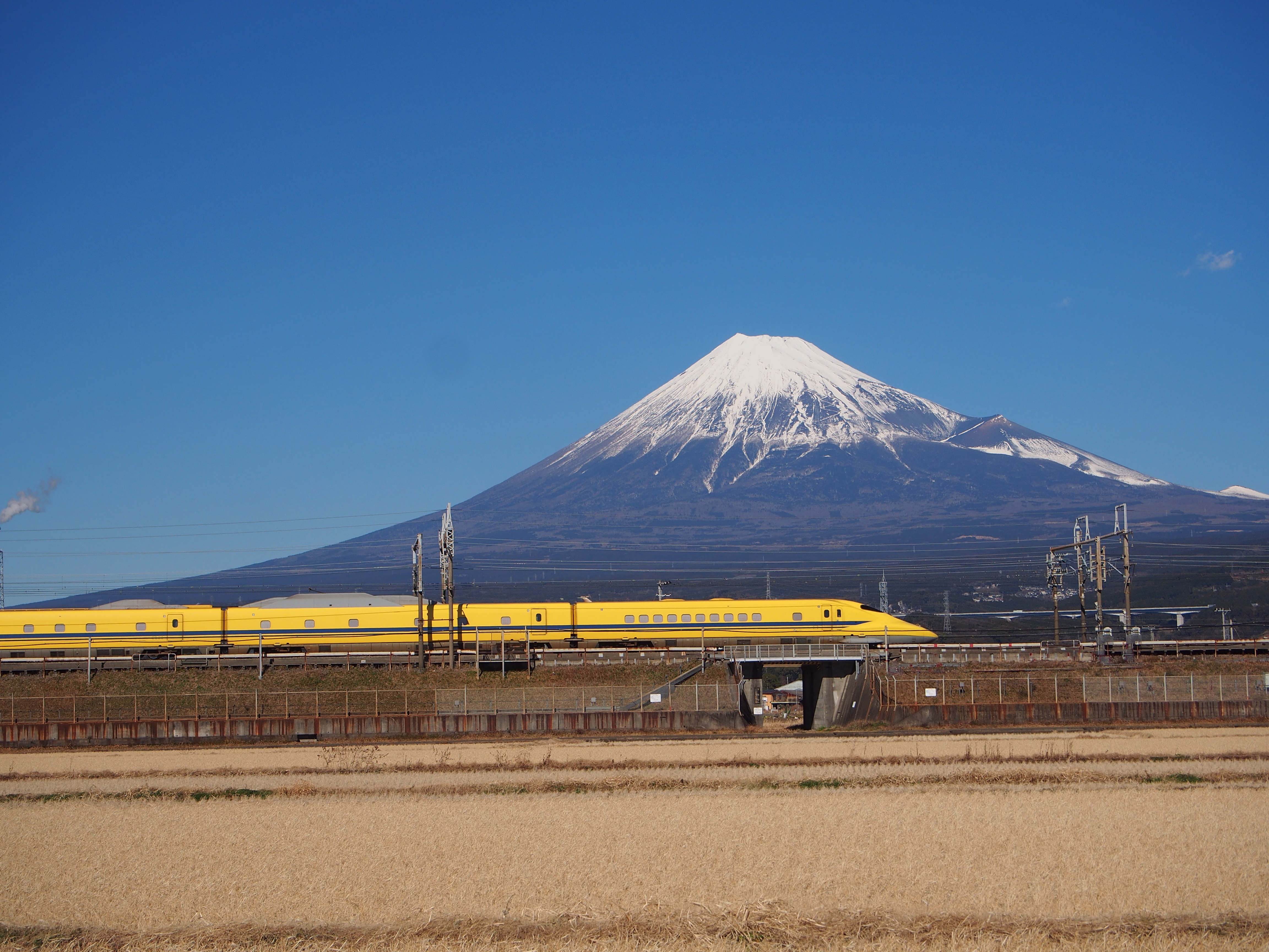 新幹線 ドクターイエロー 画像